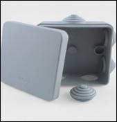 Коробка распаячная квадратная 100х100х50 GX3002