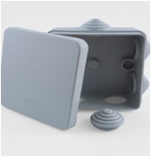 Коробка распаячная квадратная 70х70х40 GX3001