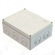 GREENEL Коробка распаячная наружняя RAL7035 240*195*90 IP44 GE41271