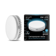 Лампа Gauss лампа светодиодная GX53 6W холодная 4100K LD108008206
