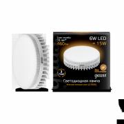Лампа Gauss лампа светодиодная GX53 6W теплая 2700K LD108008106