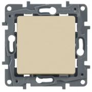Legrand ETIKA Выключатель 1кл. крем механизм 672301