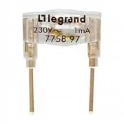 Legrand Valena лампа зеленая 260В 0,5мА 775897