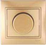 Lezard MIRA диммер регулятор света 800W Золото 701-1313-115
