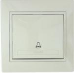 Lezard MIRA кнопка звонка крем 701-0303-103