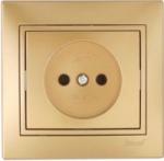 Lezard MIRA розетка б/з Золото 701-1313-121