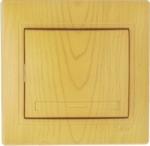 Lezard MIRA выключатель 1 кл. Ольха 701-0701-100