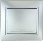 Lezard MIRA выключатель 1 кл. Серебро 701-1010-100
