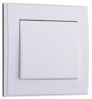 Lezard RAIN Выключатель белый 703-0288-100