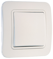 Makel Lillium выключатель 1 кл. белый 71001