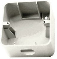 Makel Mimoza коробка накладная серебро 10056