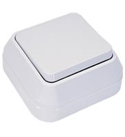Makel SIVA USTU выключатель 1 кл. проходной белый 45105