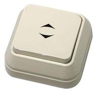 Makel SIVA USTU выключатель 1 кл. проходной крем 45205