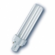 Osram лампа люминесцентная DULUX D/E 18W/840 (холодный белый 4000К) лампа G24q-2 17617