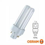 Osram лампа люминесцентная DULUX D/E 26W/840 (холодный белый 4000К) лампа G24q-3 20303
