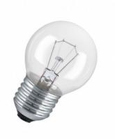 Osram лампа накаливания Е27 40W шар прозрачный