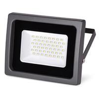 Прожектор светодиодный Wolta WFL-50W/03 5500K SMD IP65 цвет чёрный слим