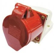 TDM Розетка силовая 5 контактов 16А 380В IP44 SQ0602-0003 (115)