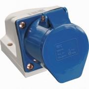 TDM Розетка силовая 3 контакта 32А 220В IP44 SQ0602-0004 (123)