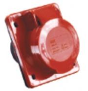 TDM Розетка силовая 4 контакта 32А 380В IP44 SQ0602-0005 (124)