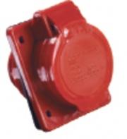 TDM Розетка силовая 5 контактов 32А 380В IP44 SQ0602-0006 (125)
