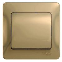 Schneider electric GLOSSA 1-клавишный ВЫКЛЮЧАТЕЛЬ, сх.1, ТИТАН GSL000412
