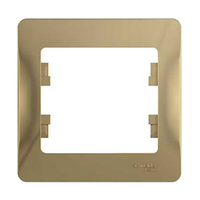 Schneider electric GLOSSA 1-постовая РАМКА, ТИТАН GSL000401