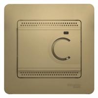 Schneider electric GLOSSA ТЕРМОСТАТ электронный теплого пола с датчиком, 10A, ТИТАН GSL000438