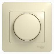 Schneider GLOSSA диммер регулятор света 300Вт поворотный крем в сборе GSL000234