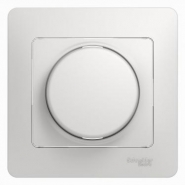Schneider GLOSSA диммер регулятор света 600Вт универсальный белый в сборе GSL000136