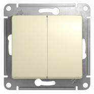 Schneider GLOSSA выключатель 2кл. крем механизм GSL000251