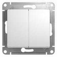 Schneider GLOSSA выключатель 2кл. проходной белый механизм GSL000165