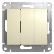 Schneider GLOSSA выключатель 3кл. крем механизм GSL000231