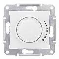 Schneider SEDNA диммер регулятор света 500Вт поворотно - нажимной белый SDN2200521
