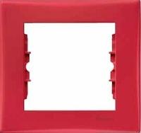 Schneider SEDNA рамка 1-я красная SDN5800141