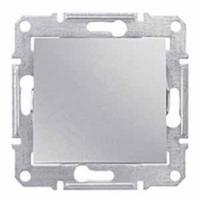 Schneider SEDNA выключатель 1кл. алюминий SDN0100160