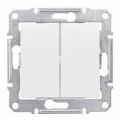 Schneider SEDNA выключатель 2кл. белый SDN0300121