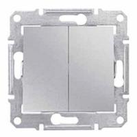 Schneider SEDNA выключатель 2кл. проходной алюминий SDN0600160