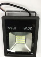 Светодиодный прожектор 20W SMD 6000К плоский