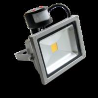 Светодиодный прожектор 30W COB с датч.движения 6000К