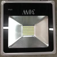 Светодиодный прожектор 30W SMD 6000К плоский