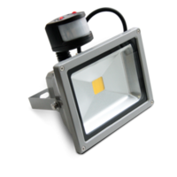 Светодиодный прожектор 50W COB с датч.движения 6000К
