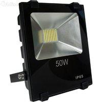 Светодиодный прожектор 50W SMD 6000К плоский