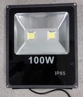 Светодиодный прожектор плоский COB 100W