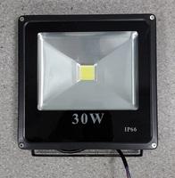 Светодиодный прожектор плоский COB 30W
