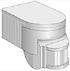 TDM Датчик движения настенный 1100Вт 180гр. IP44 ДДС-04 SQ0324-0009