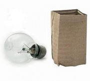 Лампа накаливания Е27 75W М50 230-75 Е27
