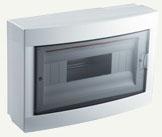 VIKO Бокс накладной пластиковый на 12 модулей 90912112