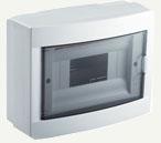 VIKO Бокс накладной пластиковый на 8 модулей 90912108