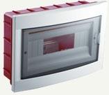 VIKO Бокс встраиваемый пластиковый на 12 модулей 90912012